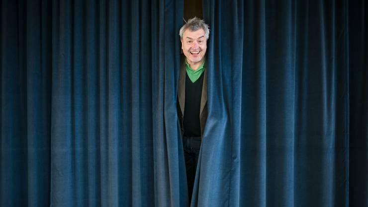 Mehr Geld für die Aargauer Kultur, nicht aber fürs Kuratorium. Bild: Kuratoriumsmitglied Walter Kueng im Jahr 2015 in Baden.
