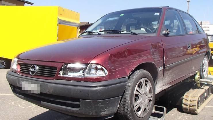 Der 36-Jährige Unfallverursacher konnte trotz Fluchtversuch angehalten und festgenommen werden.