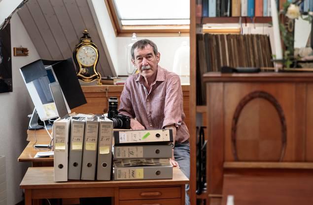 Alois Winiger dokumentierte mit seiner Kamera das Leben der Solothurnerinnen und Solothurner in den 1980er- und 1990er-Jahren.