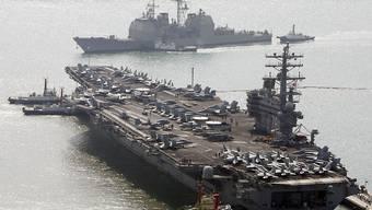 Die USA und Südkorea wollen ihre regelmässigen Militärmanöver vor den Toren Nordkoreas verkleinern, um bei der Entmilitarisierung der koreanischen Halbinsel voranzukommen. (Symbolbild)