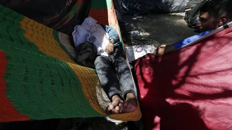 Ein venezuelanischer Flüchtling in Ecuador.