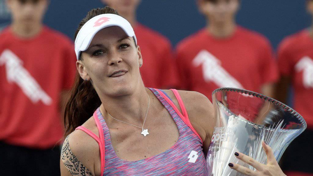 Agnieszka Radwanska holte sich Selbstvertrauen für die US Open