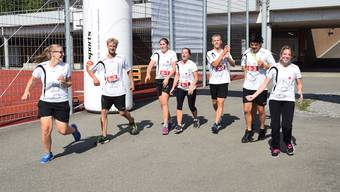 Kantonaler Sporttag Berufslernende Freiamt Wohlen