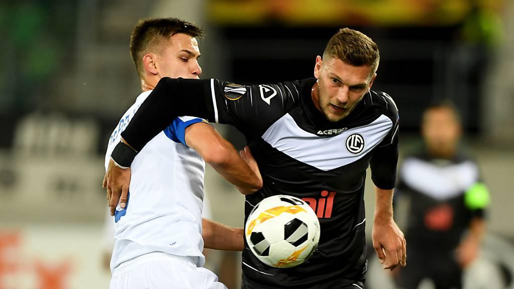 Lugano trotzt Dynamo Kiew ein 0:0 ab