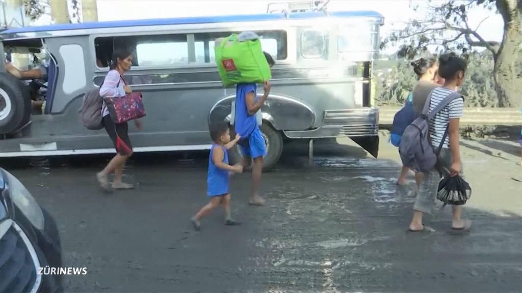 Nach Vulkanausbruch: Schweiz-Filipino sorgt sich um seine Verwandten