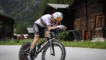 Rätselhafte Aufgabe: Zeitfahr-Weltmeister Rohan Dennis (hier an der Tour de Suisse) gab am Tag vor dem einzigen Einzel-Zeitfahren an der Tour de France überraschend auf