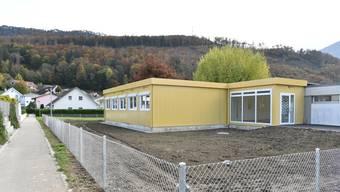 Der bestehende Kindergarten im Mühlefeld wurde mit einem Bau in Modulbauweise erweitert. Doch es muss weiterer Kindergartenraum gesucht werden.
