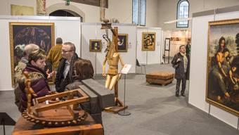 Ausstellung über Leonardo Da Vinci in der Reithalle Solothurn