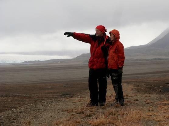 Esther und Andreas Höchli segeln seit neun Jahren um die Inselgruppe Spitzbergen