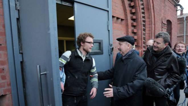 Der Zürcher Marco Weber durfte das Gefängnis verlassen. Foto: Keystone