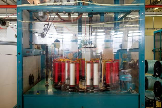 Das letzte Seil wurde in den Fabrikationshallen von Seon produziert – die Produktion wurde ausgelagert.