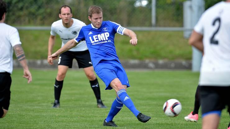 Der Topskorer der Vorrunde: Simon Affentranger vom SC Fulenbach.