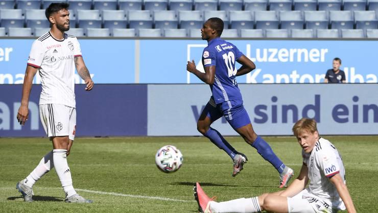 Seit dem Liga-Restart des FCB in Luzern gibt's nur englische Wochen – die Kräfte zehren.