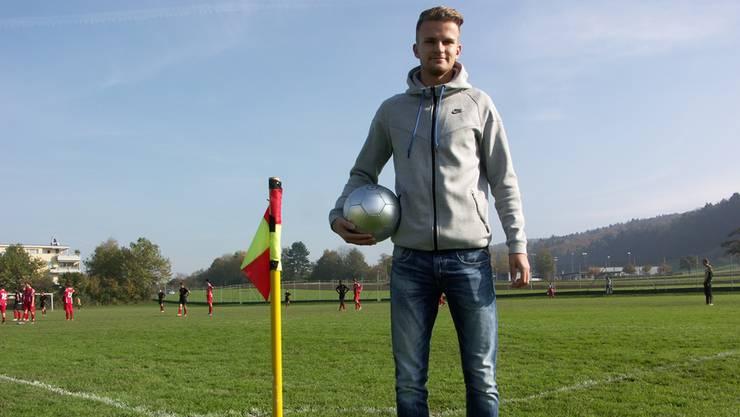 Christopher Teichmann nimmt bei den Old Boys Anlauf für die Rückkehr in die Super League.