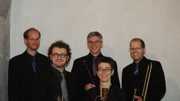 Posaune und Zink: Das Bläser-Ensemble Il Desiderio ist auf Alte Musik spezialisiert.  ZVG
