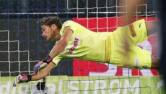 GC-Ersatztorhüter Vaso Vasic stand beim Super-League-Spiel gegen den FC Sion vergangenen Samstag zwischen den Pfosten.