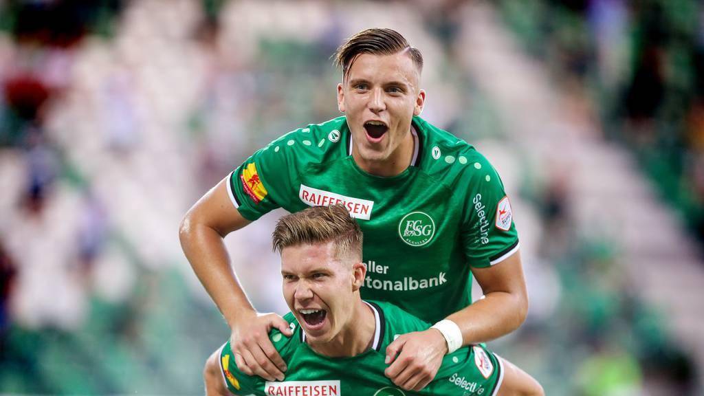 FC St.Gallen demontiert Xamax