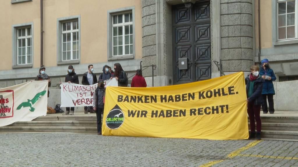 Angeklagter Klimaaktivist: «Schuldig ist die CS»