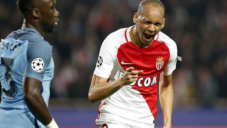 Monacos Fabinho jubelt in Zukunft für Liverpool