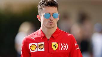 Ferrari-Fahrer Charles Leclerc vergass während eines Rennens im Simulator alles um sich herum