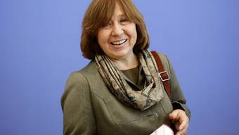 Sie kriegt den diesjährigen Literatur-Nobelpreis: Die Weissrussin Swetlana Alexijewitsch. (Archiv)
