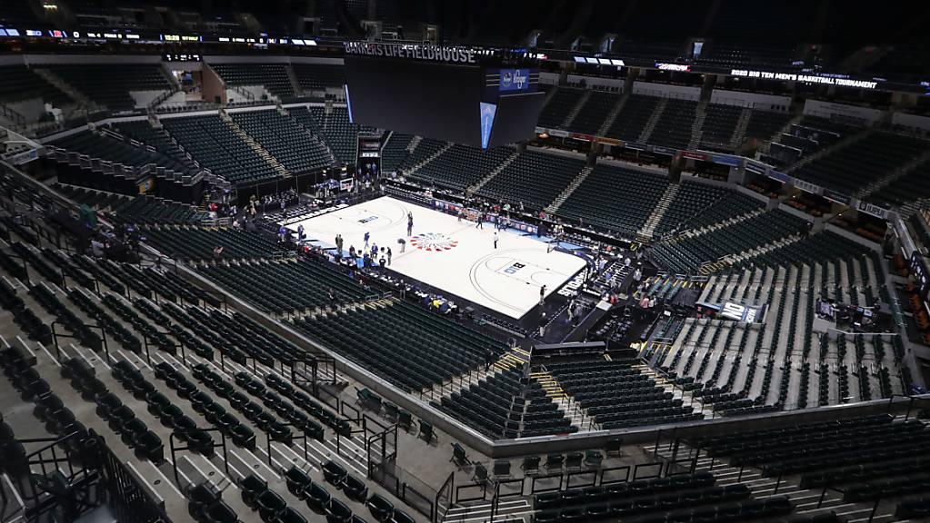 Die Basketball-Stadien in den USA bleiben leer, die Spieler zeigen sich solidarisch