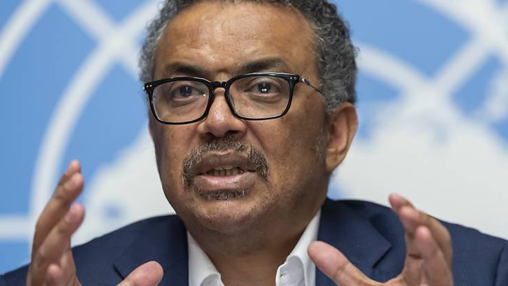 Der Generaldirektor der Weltgesundheitsorganisation WHO, Tedros Adhanom Ghebreyesus, will die Bekämpfung von Ebola mit einer Entwicklung des Gesundheitsdienstes verbinden.