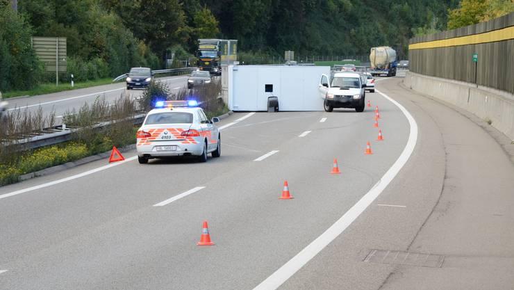 Verkehrsunfall in Diegten