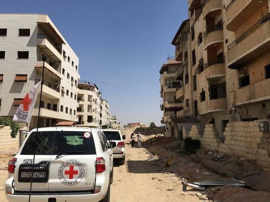 Im Juni 2016 konnte das IKRK erstmals seit 2012 humanitäre Hilfe in der zuvor vom Assad-Regime belagerten syrischen Stadt Daraya leisten.