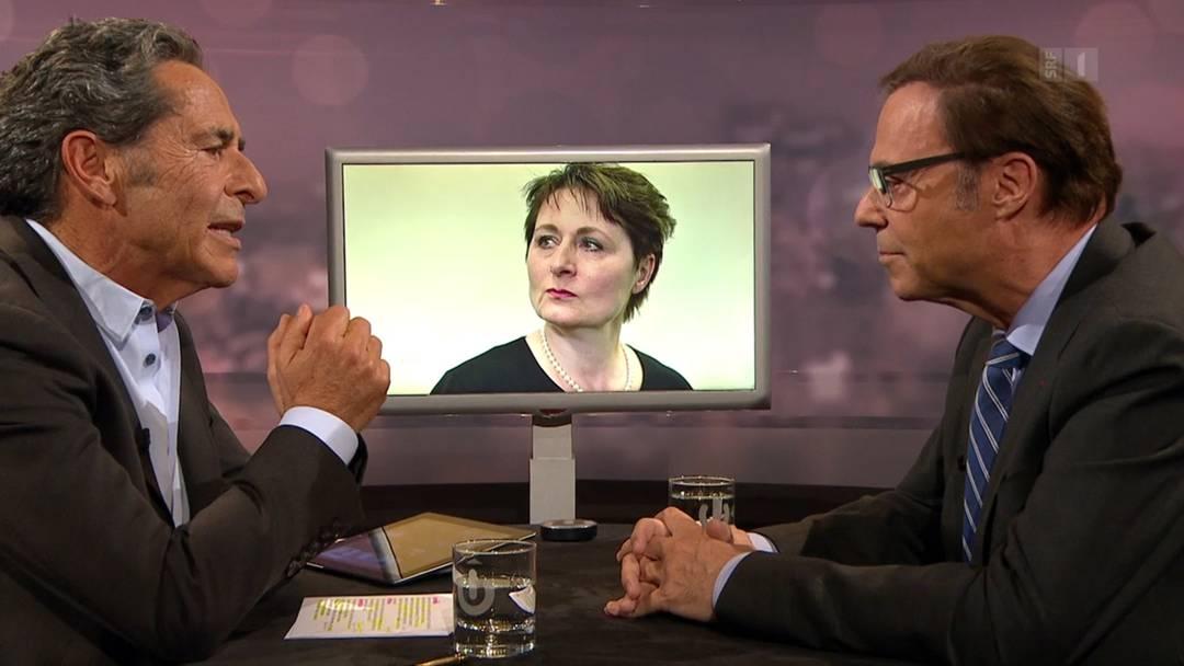 Bei Schawinski: «Der neue Mörgeli» verteidigt Franziska Roth