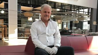 Freut sich auf die Rückkehr der Kundinnen und Kunden: Perry-Center-Chef Ruedi Bügler. Bild: pp