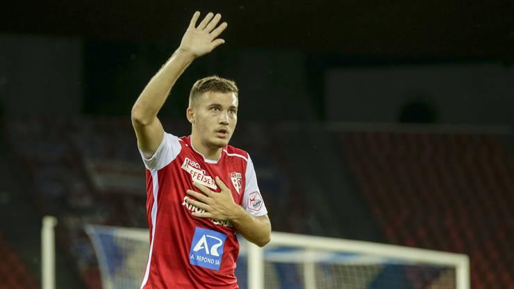 """""""Hallo FCA"""": Filip Stojilkovic wechselt leihweise aus Sion ins Brügglifeld"""