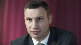 Heute schlägt er nur noch politische Kämpfe: Vitali Klitschko, Bürgermeister von Kiew.