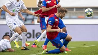 Die Entscheidung: Silvan Widmer trifft in der Verlängerung zum 3:2.