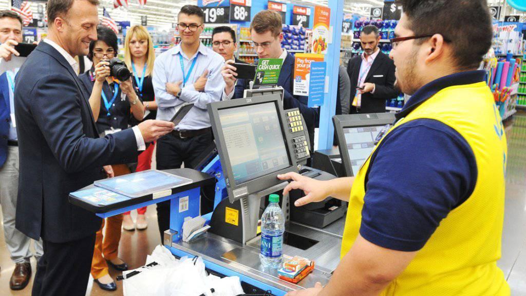 Walmart in Kanada schliesst die Visa-Karte als Zahlungsmöglichkeit aus. (Symbolbild)