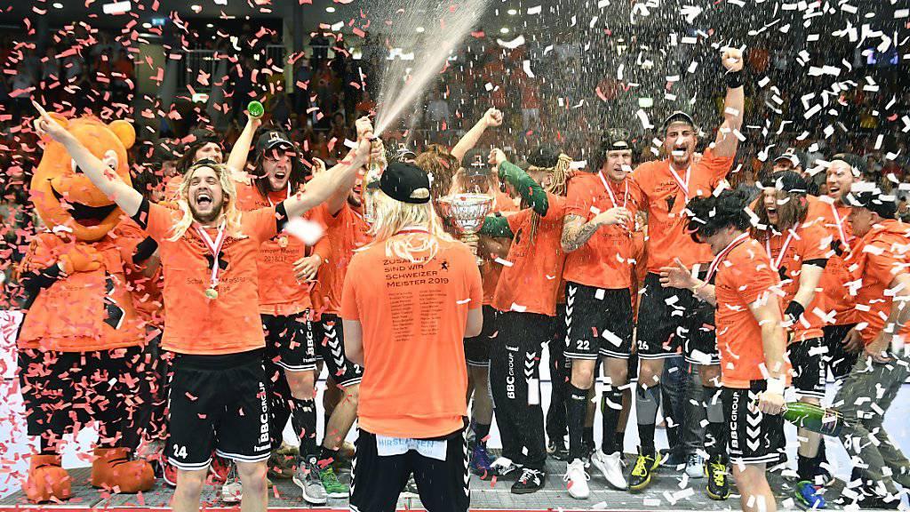 Jubeln die Kadetten auch in der Champions League?