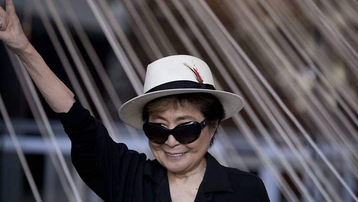 """Yoko Ono will im Herbst ein neues Album mit dem Titel """"Warzone"""" herausbringen. (Archivbild)"""