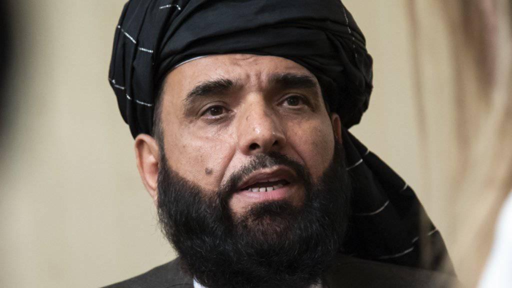Nach Angaben von Talibansprecher Suhail Schaheen sind bei der neunten Verhandlungsrunde zwischen den USA und den Taliban Fortschritte erzielt worden. (Archivbild)