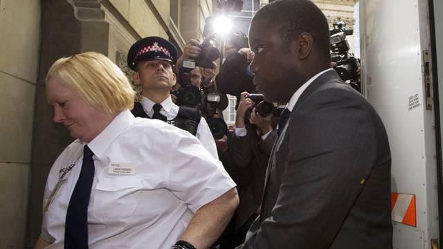 Der angeklagte UBS-Händler bei der Anhörung in London