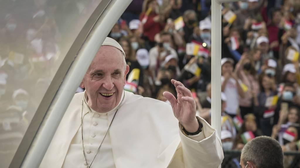 Papst zieht positive Bilanz seines Irak-Besuchs