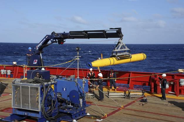 Die Suche mit dem Blackbox-Lokalisator wurde eingestellt. Stattdessen kommt das Mini-Uboot «Bluefin 21» zum Einsatz.