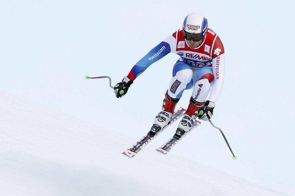 Daniel Albrecht war bis 2013 Skirennfahrer (© Keystone)