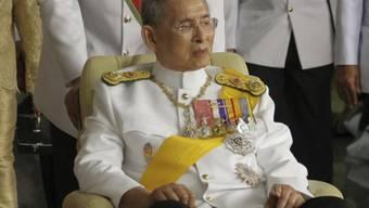 Der König von Thailand (Archiv)