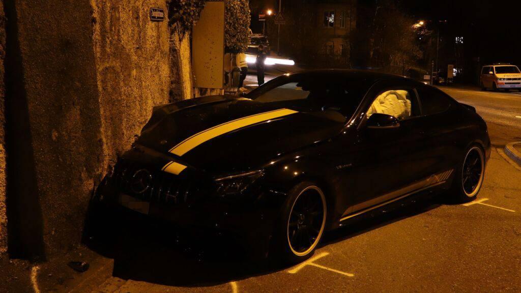 Mercedes-Fahrer raste mit 175 km/h durch St.Gallen