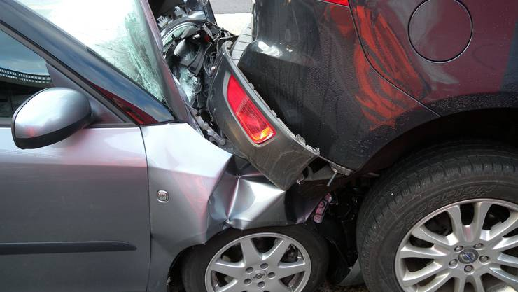 Am Unfall waren fünf Fahrzeuge beteiligt.