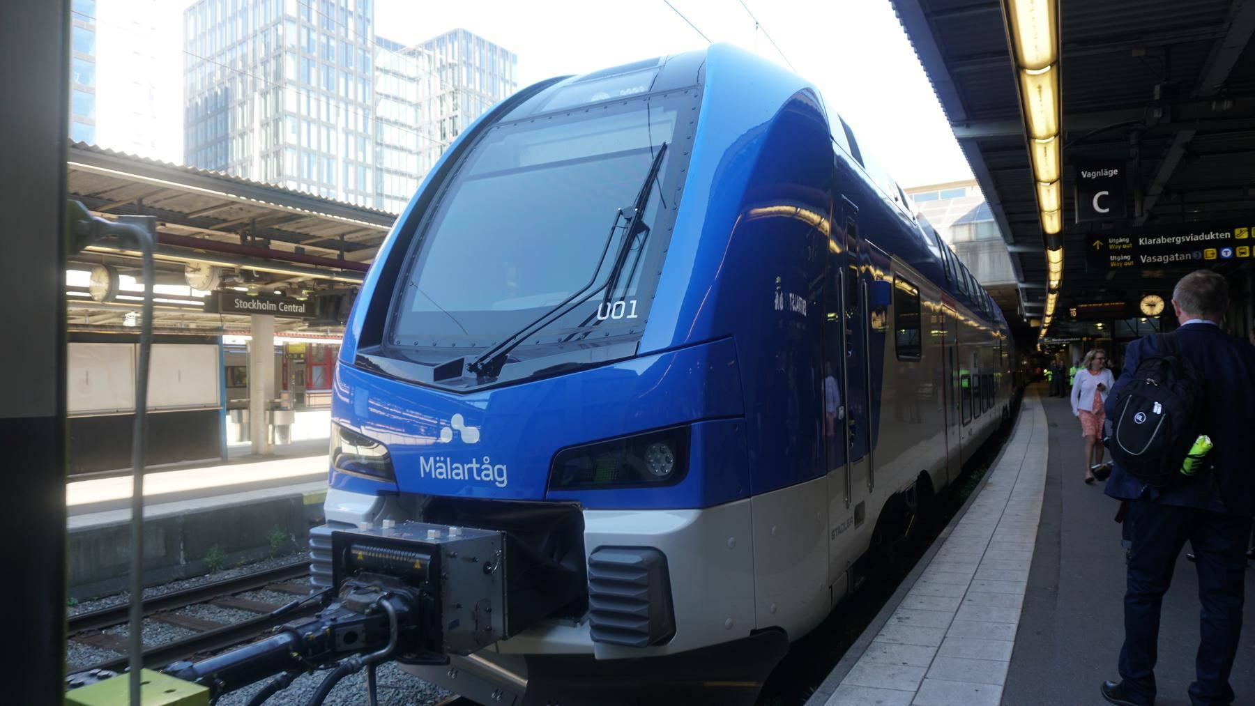 Die Züge von Stadler sollen in der Region des Mälarsees westlich der Schwedischen Hauptstadt Stockholm verkehren.