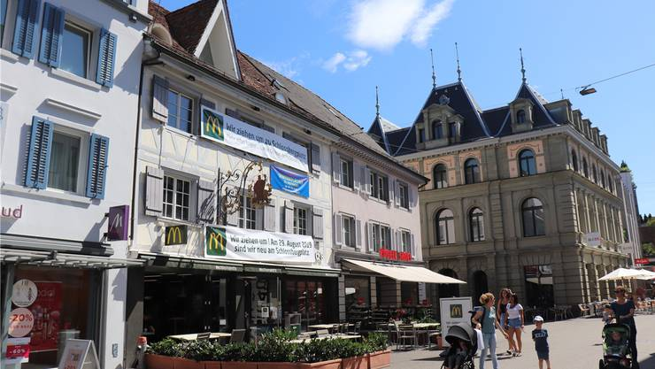 McDonald's verlässt das «Gambrinus» in Baden.