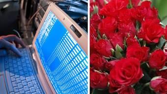 Antonio betrügte eine Aargauerin im Internet um 200000 Franken, er schickte ihr sogar Blumen