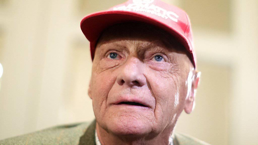 Niki Lauda stand der sda in einem Exklusiv-Interview Red und Antwort