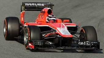 Der Marussia-Ferrari wird in Spa von Alexander Rossi pilotiert.